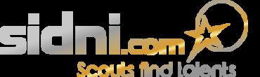 Logo Sidni Auf Schwarz